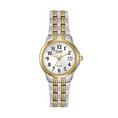 Citizen Eco-Drive Women's Two Tone Stainless Steel Watch - EW1544-53A