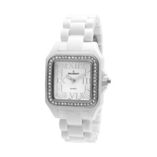 Peugeot Women's Ceramic Crystal Watch - PS4897WT