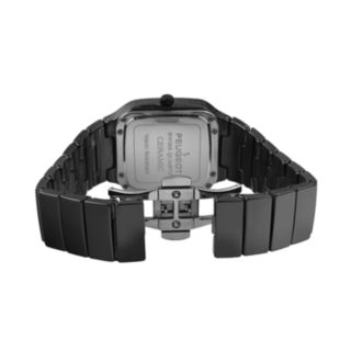 Peugeot Women's Ceramic Crystal Watch - PS4899BK