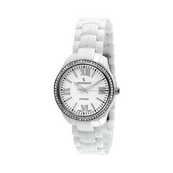 Peugeot Women's Ceramic Crystal Watch - PS4901WT
