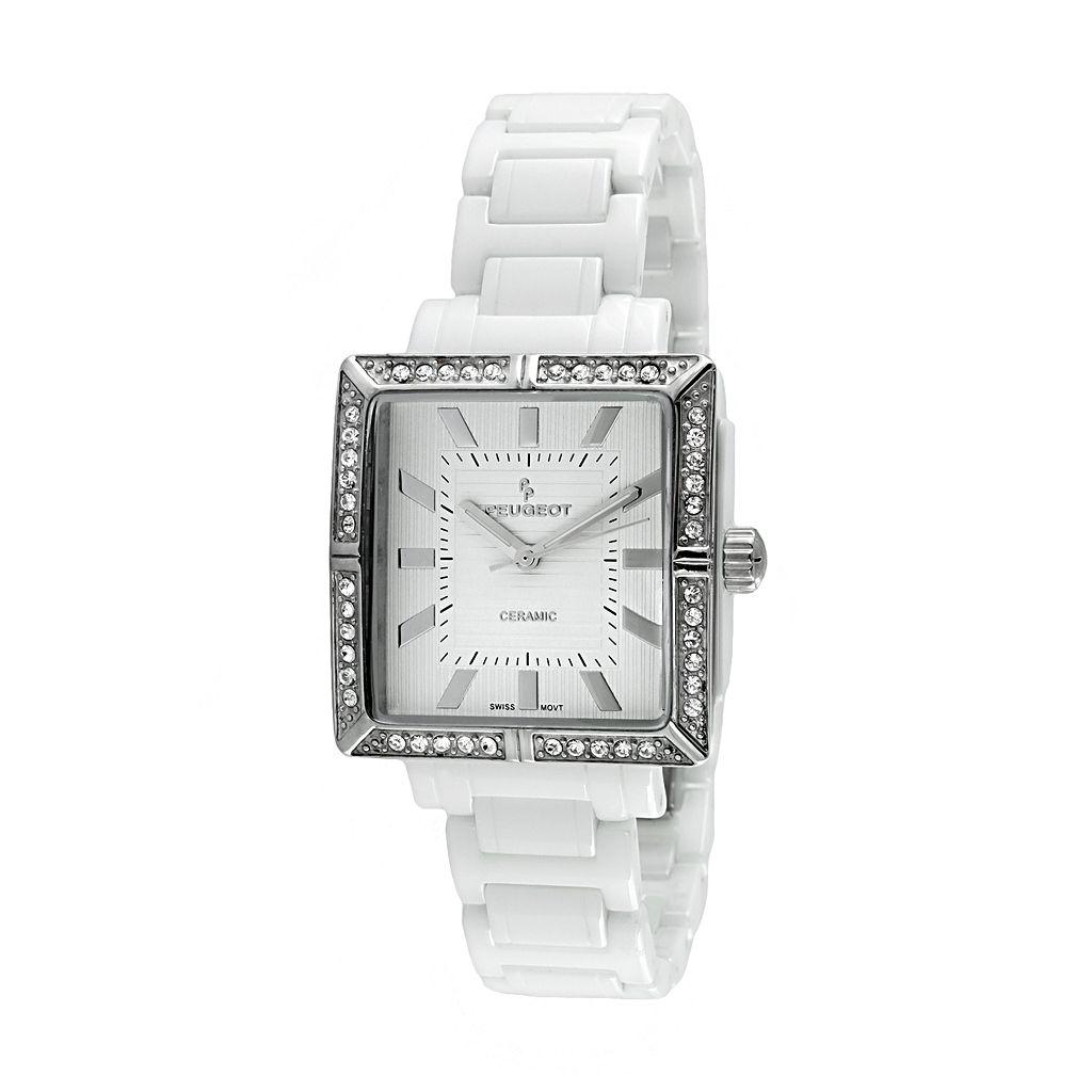 Peugeot Women's Crystal Watch - PS4903WT