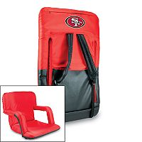 Picnic Time San Francisco 49ers Ventura Portable Chair