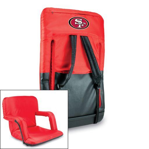 Picnic Time San Francisco 49ers Ventura Portable Chair