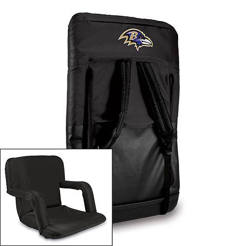 Picnic Time Baltimore Ravens Ventura Portable Chair