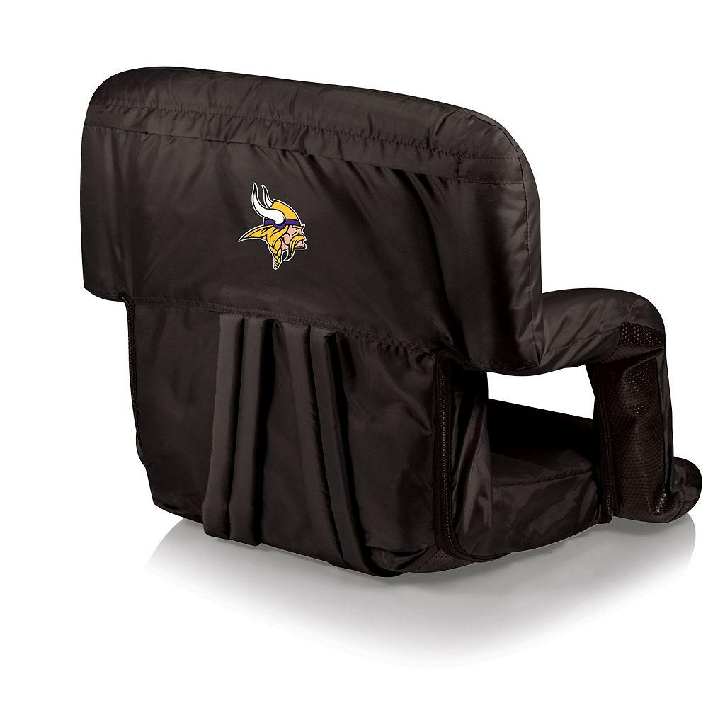 Picnic Time Minnesota Vikings Ventura Portable Chair