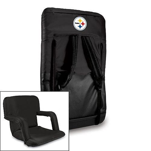 Picnic Time Pittsburgh Steelers Ventura Portable Chair