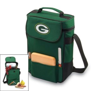 Picnic Time Green Bay Packers Duet Insulated Wine Tote
