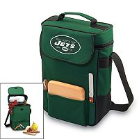 Picnic Time New York Jets Duet Insulated Wine Tote