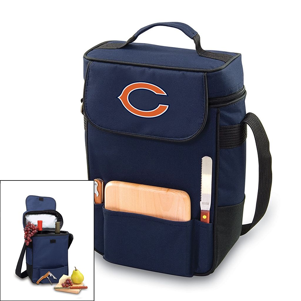 Picnic Time Chicago Bears Duet Insulated Wine Tote