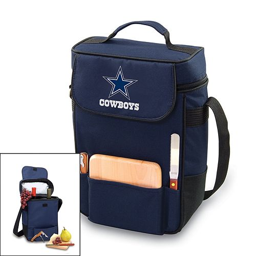 Picnic Time Dallas Cowboys Duet Insulated Wine Tote