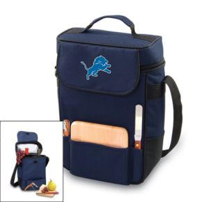 Picnic Time Detroit Lions Duet Insulated Wine Tote