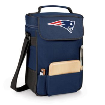 Picnic Time New England Patriots Duet Insulated Wine Tote