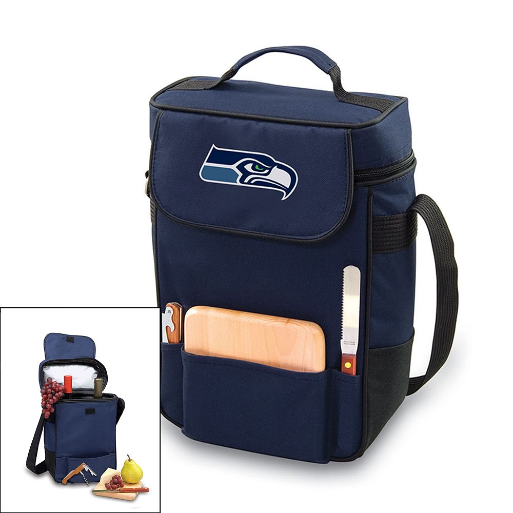 Picnic Time Seattle Seahawks Duet Insulated Wine Tote