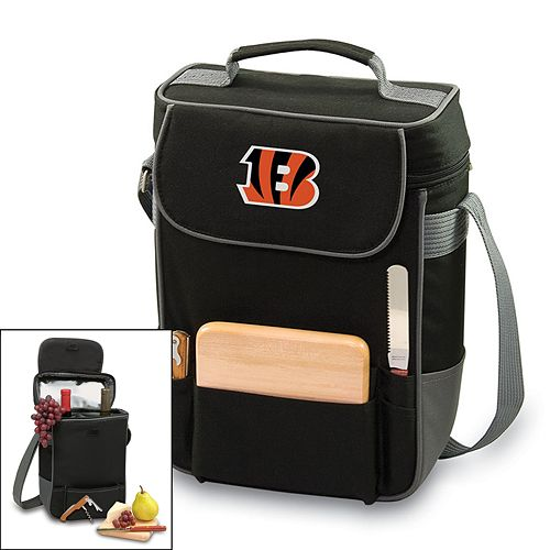 Picnic Time Cincinnati Bengals Duet Insulated Wine Tote