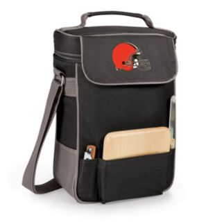 Picnic Time Cleveland Browns Duet Insulated Wine Tote