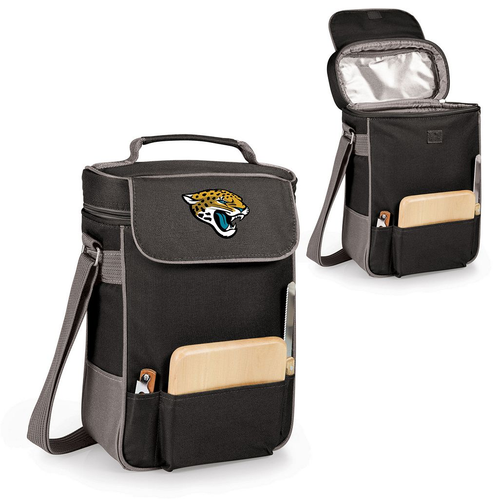 Picnic Time Jacksonville Jaguars Duet Insulated Wine Tote