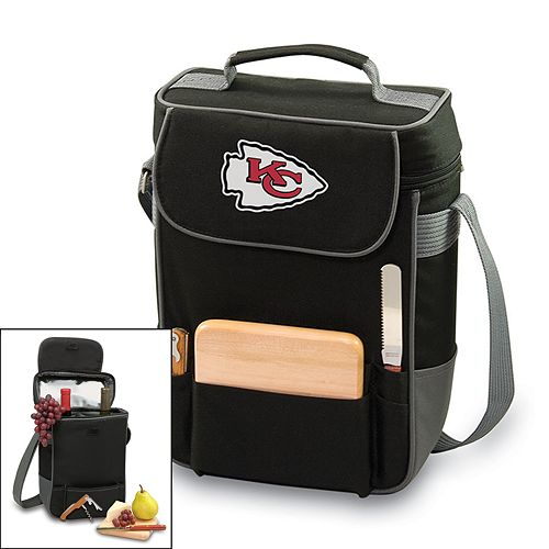 Picnic Time Kansas City Chiefs Duet Insulated Wine Tote