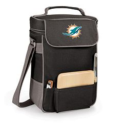 Picnic Time Miami Dolphins Duet Insulated Wine Tote