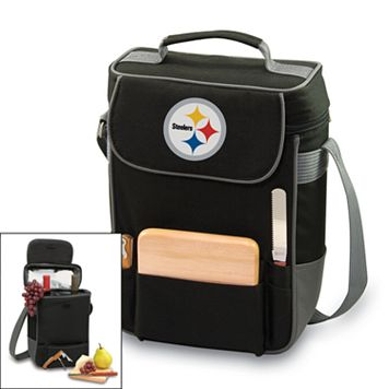 Picnic Time Pittsburgh Steelers Duet Insulated Wine Tote