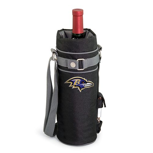 Picnic Time Baltimore Ravens Insulated Wine Sack