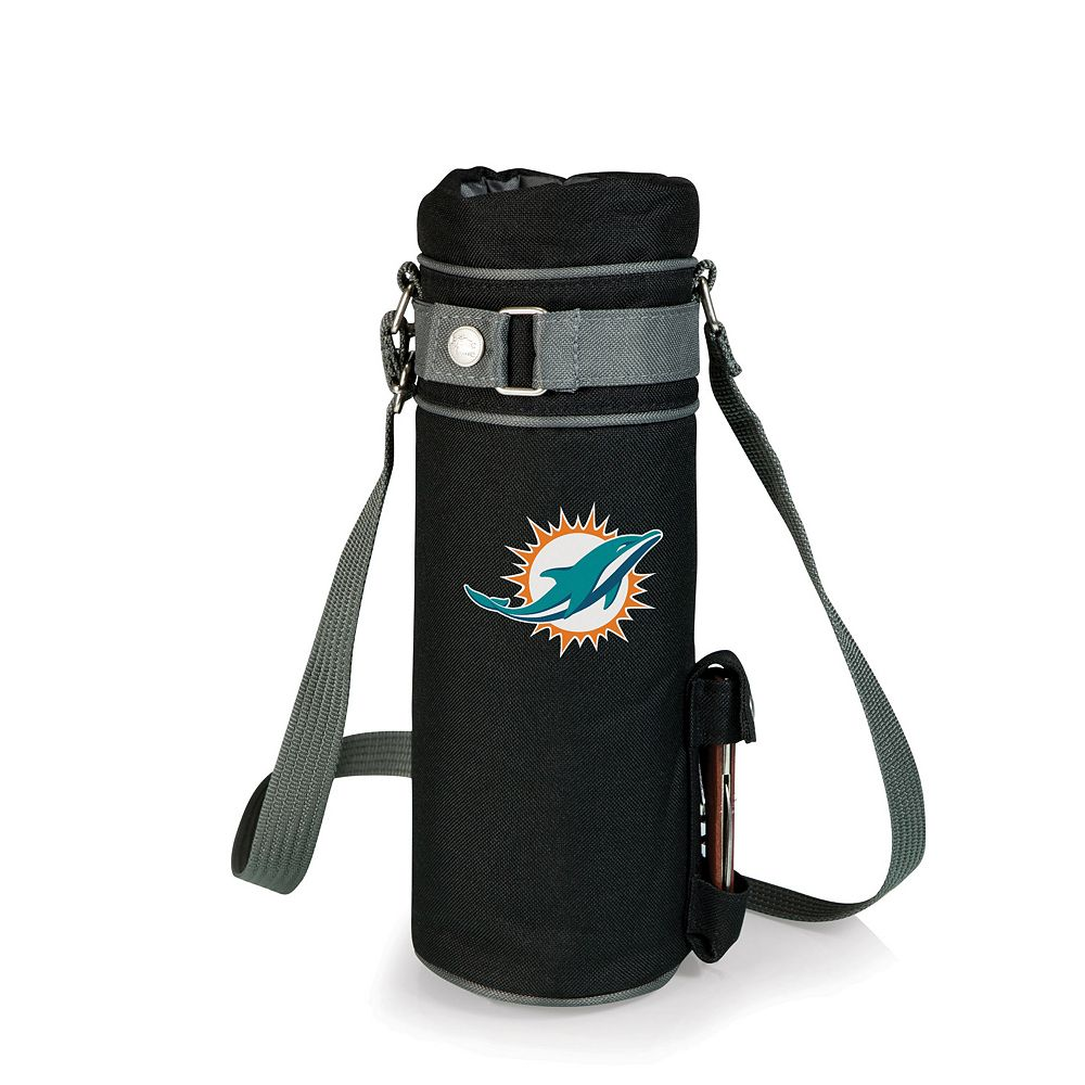 Picnic Time Miami Dolphins Insulated Wine Sack