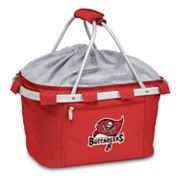 Picnic Time Tampa Bay Buccaneers Metro Insulated Picnic Basket