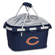 Picnic Time Chicago Bears Metro Insulated Picnic Basket
