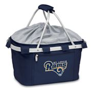 Picnic Time St. Louis Rams Metro Insulated Picnic Basket