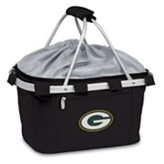 Picnic Time Green Bay Packers Metro Insulated Picnic Basket