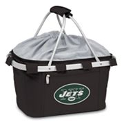 Picnic Time New York Jets Metro Insulated Picnic Basket