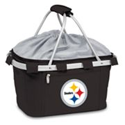 Picnic Time Pittsburgh Steelers Metro Insulated Picnic Basket