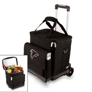 Picnic Time Atlanta Falcons Cellar Insulated Wine Cooler and Hand Cart