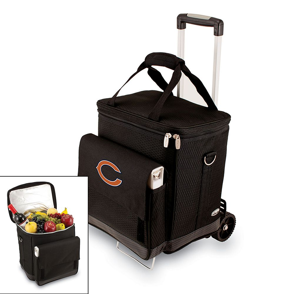 Picnic Time Chicago Bears Cellar Insulated Wine Cooler & Hand Cart