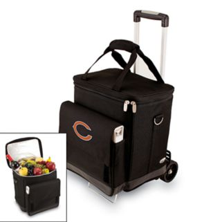 Picnic Time Chicago Bears Cellar Insulated Wine Cooler and Hand Cart