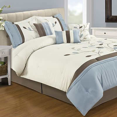 Home Classics Alana 7-pc. Comforter Set - Queen