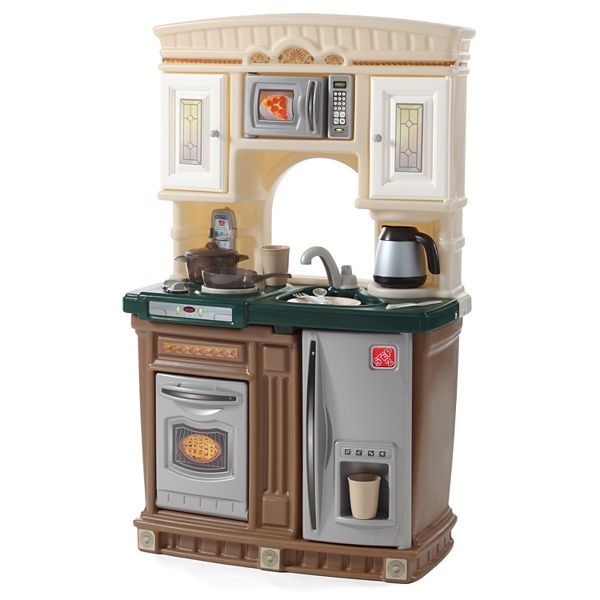 Kids Kitchen Playset Natural Wood
