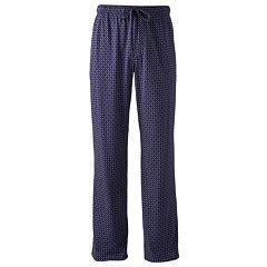 Men's Croft & Barrow® True Comfort Patterned Lounge Pants