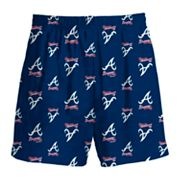 Atlanta Braves Shorts - Boys' 8-20