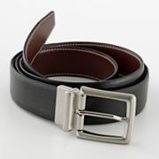 Croft and Barrow Reversible Soft-Touch Leather Belt