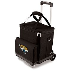 Picnic Time Jacksonville Jaguars Cellar Insulated Wine Cooler & Hand Cart
