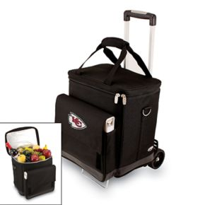 Picnic Time Kansas City Chiefs Cellar Insulated Wine Cooler and Hand Cart