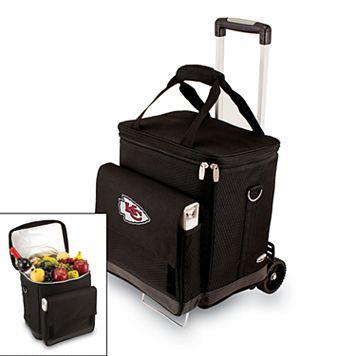 Picnic Time Kansas City Chiefs Cellar Insulated Wine Cooler & Hand Cart