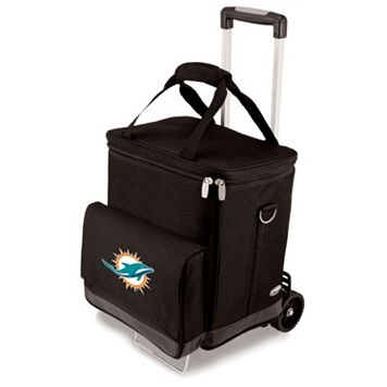 Picnic Time Miami Dolphins Cellar Insulated Wine Cooler & Hand Cart