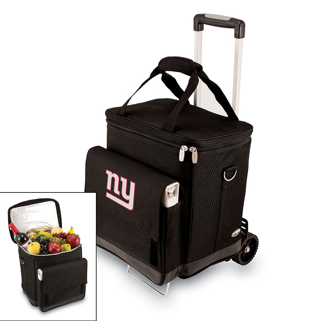 Picnic Time New York Giants Cellar Insulated Wine Cooler & Hand Cart