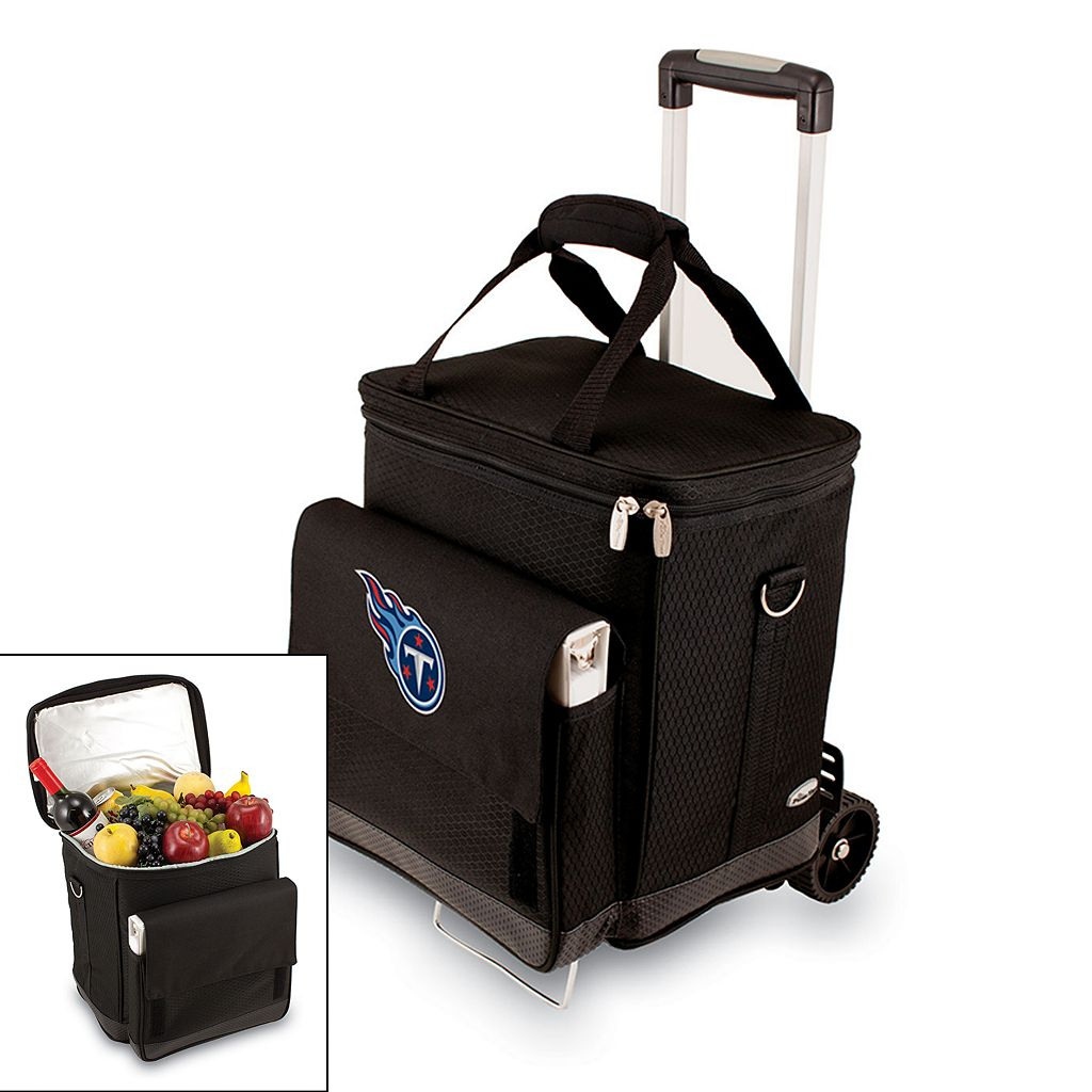 Picnic Time Tennessee Titans Cellar Insulated Wine Cooler & Hand Cart