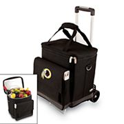 Picnic Time Washington Redskins Cellar Insulated Wine Cooler & Hand Cart