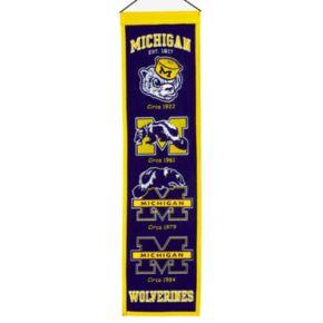 Michigan Wolverines Heritage Banner