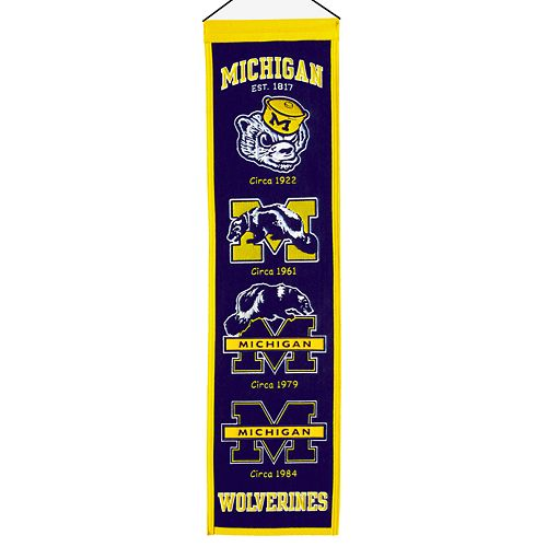 Michigan Wolverines Heritage Banner