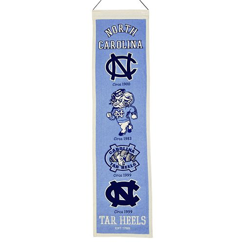 North Carolina Tar Heels Heritage Banner