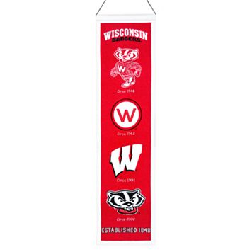 Wisconsin Badgers Heritage Banner